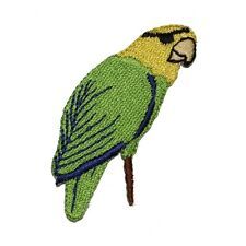ID 0620 Pirate Parrot Eye Patch and Peg Leg Iron On Applique Patch