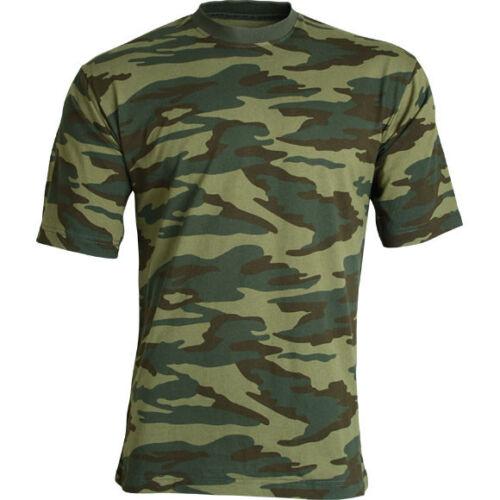 Russian Army Camo T-shirt Military Fishing SPLAV Brand New Hunting