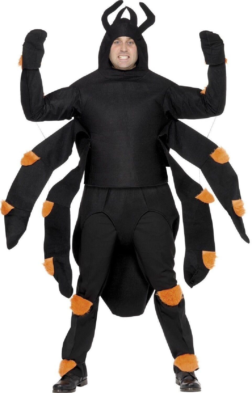 Superbe Noël Crazy, bonne année salutations Halloween pour hommes femmes géant araignée Halloween salutations Animal Brame costume déguiseHommes t 3ceb71