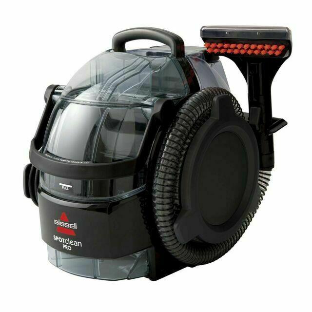 BISSELL SpotClean Black Portable Carpet Cleaner - Model 3624