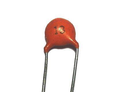 20 x Condensateur ceramique 18pF 50V                                       CC18P