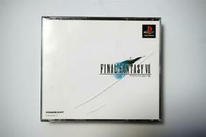 PlayStation 1 Final Fantasy 7 VII Japan PS1 game US Seller