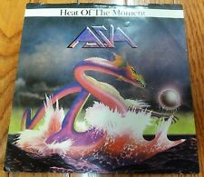 ASIA ~ Heat of the Moment b/w Ride Easy ~ ELP Yes King Crimson 1982