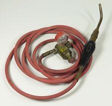 As Is Goss 7n84 Air Acetylene 221 R Regulator Plumbers Soldering Brazing Torch