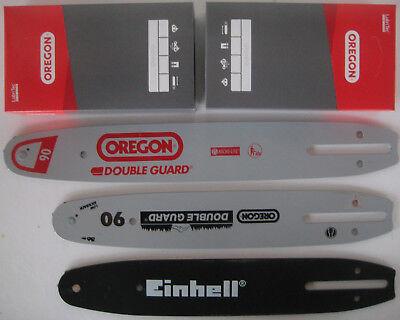 """Schwert 2 Ketten passend für Einhell GE-LC 36//35 30 cm 3//8/"""" 45 TG 1,1 mm chain"""