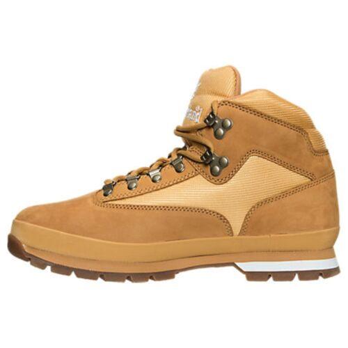 43404cecaac TIMBERLAND TB091566231 EURO HIKER Mn's (M) Wheat/Nubuck Leather Hiking Boots