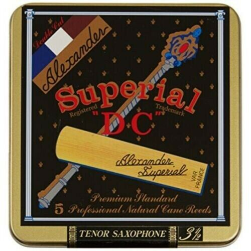 "5 ALEXANDER SUPERIAL /""DC/"" TENOR SAXOPHONE REEDS SIZE #3 1//2 Tenor Sax"