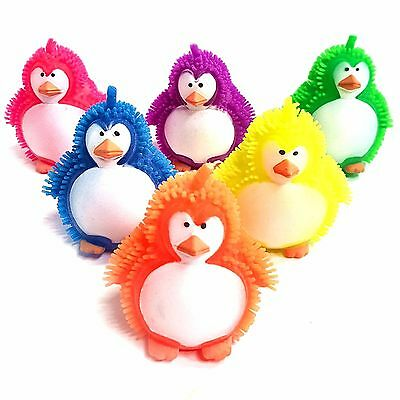 Fidget Stress Sensory Autism ADHD Flashing Puffer Poodle Squidgy Sensory Toy