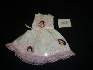 doll dress for 18 inch american girl snow white pink lace 203