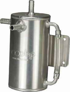 OBP-Baffled-1-Litre-Round-Bulk-Head-Mount-Oil-Catch-Tank-OBPCT008