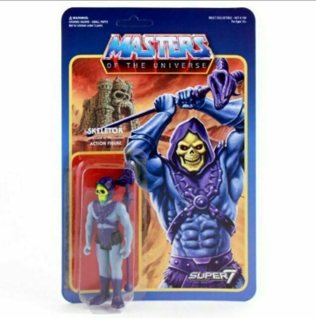 Mini Comic ReAction Masters of the Universe Ram Man Action Figure