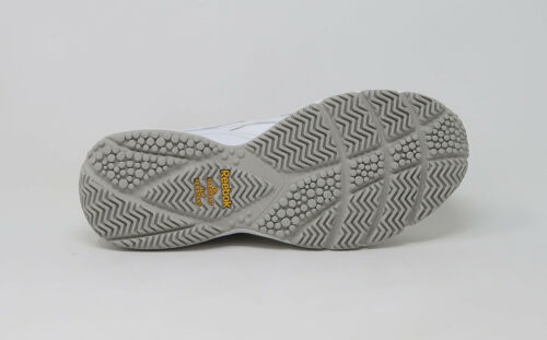 REEBOK Women Work Shoes Reeshift Ride White Grey Sunsprite Oil /& Slip Resistant