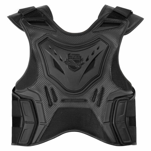 *SHIPS SAME DAY* Womens Icon Stryker Vest Motorcycle Back Armor Protector