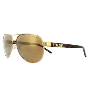1a9f1b3773 Image is loading Ralph-by-Ralph-Lauren-Sunglasses-4004-1012T-Gold-