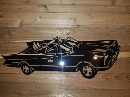The Batmobile  Metal art wall Sign Wall Art hand made in waco tx Batman