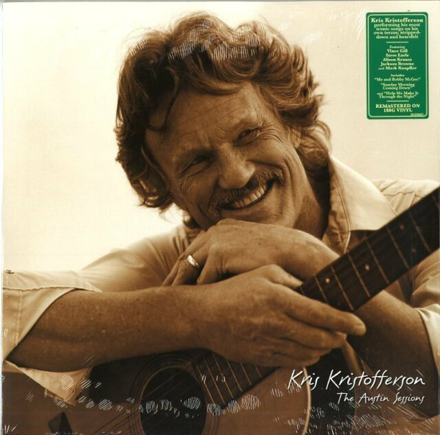 Kristofferson Kris The Austin Sessions Remastered Expanded Vinilo LP 180 Gramos