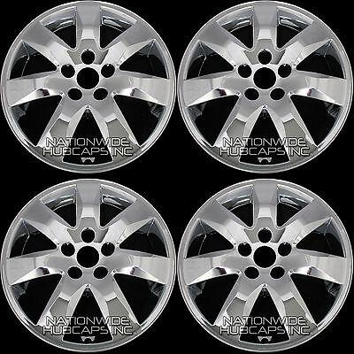 "fits 2011-2013 Kia Sorento 17"" Chrome Wheel Skins Hub Caps Rim Covers Simulators"