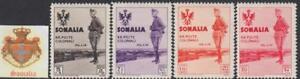 ITALY-SOMALIA-King-039-s-Visit-to-Somalia-Sassone-n-199-200-202-208-cv-130-MNH