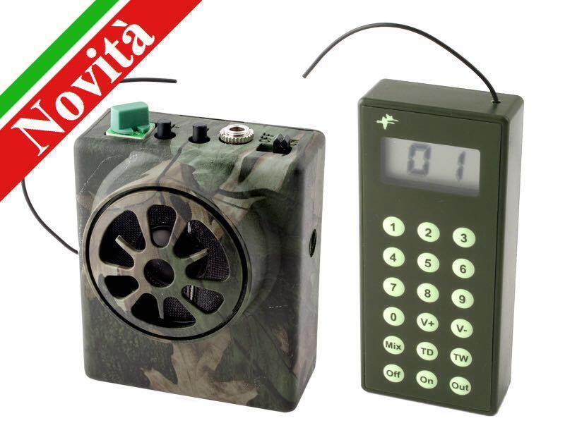 Riproduttore con radiocomando 16 canti (inclusa scheda)