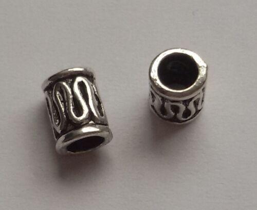 5//10//15 patrones beads grande agujero perlas Paracord Lanyard pulsera grande agujero perlas b71