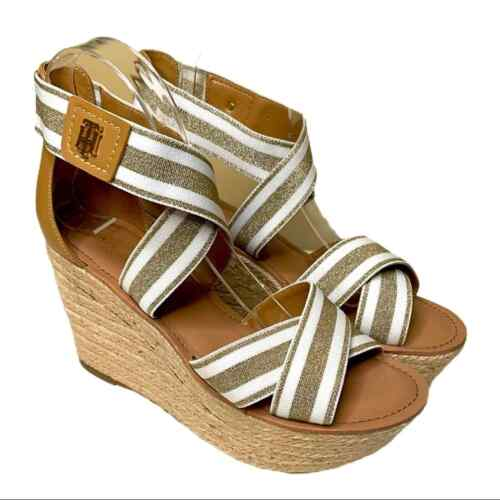Tommy Hilfiger Theia Wedges Size 8.5 - image 1