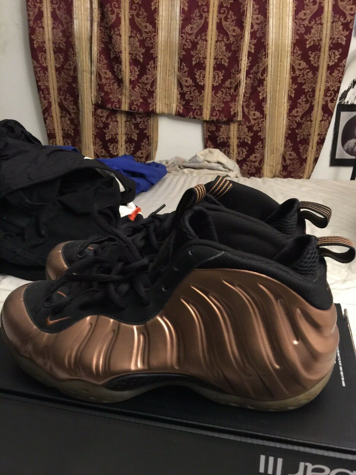 Men's/Women's NIKE FOAMPOSITE COPPER SZ 10 We have Carefully won praise from our customers. Carefully have selected materials buy online 6b8501