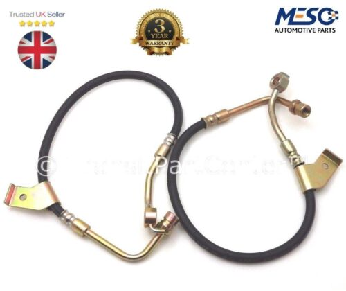 FRONT BRAKE PIPE HOSE FITS FOR FORD TRANSIT 1985-2000 A PAIR OF BRAND NEW O.E