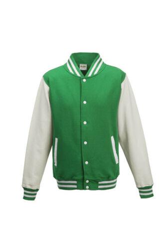 Just Hoods College Varsity Jacke Unisex XS-XXL College Retro Style Universität