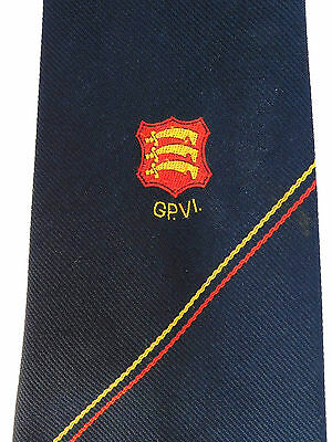 GP VI vintage tie 3 seaxes Essex English county Fortune sports club Regimental?