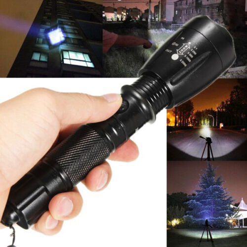 Bright Lumify X9 XT11 Style With Charger Waterproof Tactical Flashlight Torch