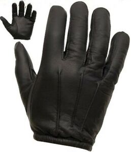 Kampf Sicherheit Spectra Anti Slash Leder Handschuhe Black Flame Fire Resistent