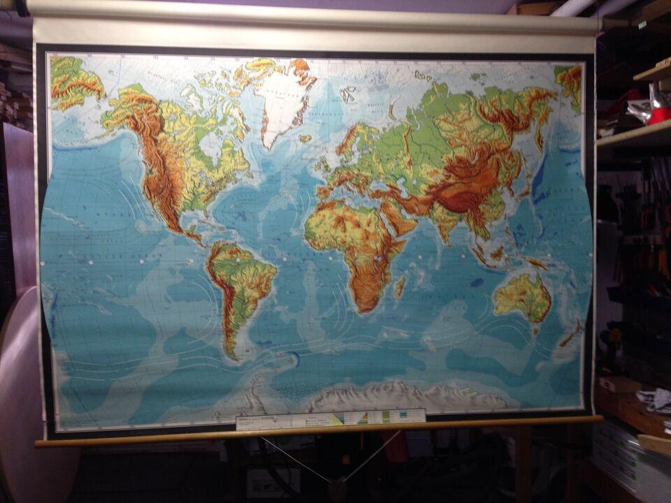 Landkort, Mange forskellige