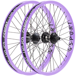 ODYSSEY BMX VANDERO FRONT OR CLUTCH v2 BICYCLE WHEEL LAVENDER GSPORT RIBCAGE