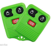 Best Replacement Keyless Entry Remote 3 Button Key For Ford Car Truck Green