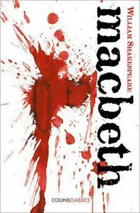 Macbeth-Collins-Classics-by-Shakespeare-William-NEW-Book-Paperback-FREE-amp