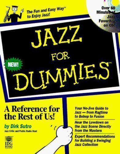Jazz For Dummies by Sutro, Dirk