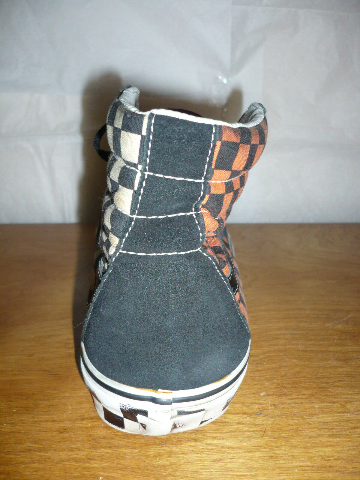 Vintage Vans Off The Wall Checkerboard skate scarpe Dimensione 12 12 12 9b874f