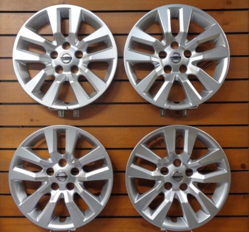 """Set of 4 New 16/"""" Hubcap Wheel Cover 2013-2017 Fits Nissan Altima 53088"""