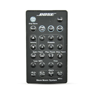 Details about Genuine Bose-wave Music System Remote Control For AWRCC6  AWRCC5 Radio/CD