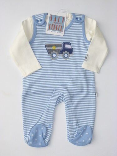 Salt and Pepper Junge Baby Set Strampler Langarmshirt  50 56 62  68 Neu