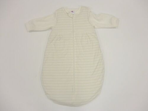 Saco de dormir bebé saco para pies nuevo 2 piezas azul rosa con mangas 50//56 74//80 62//68
