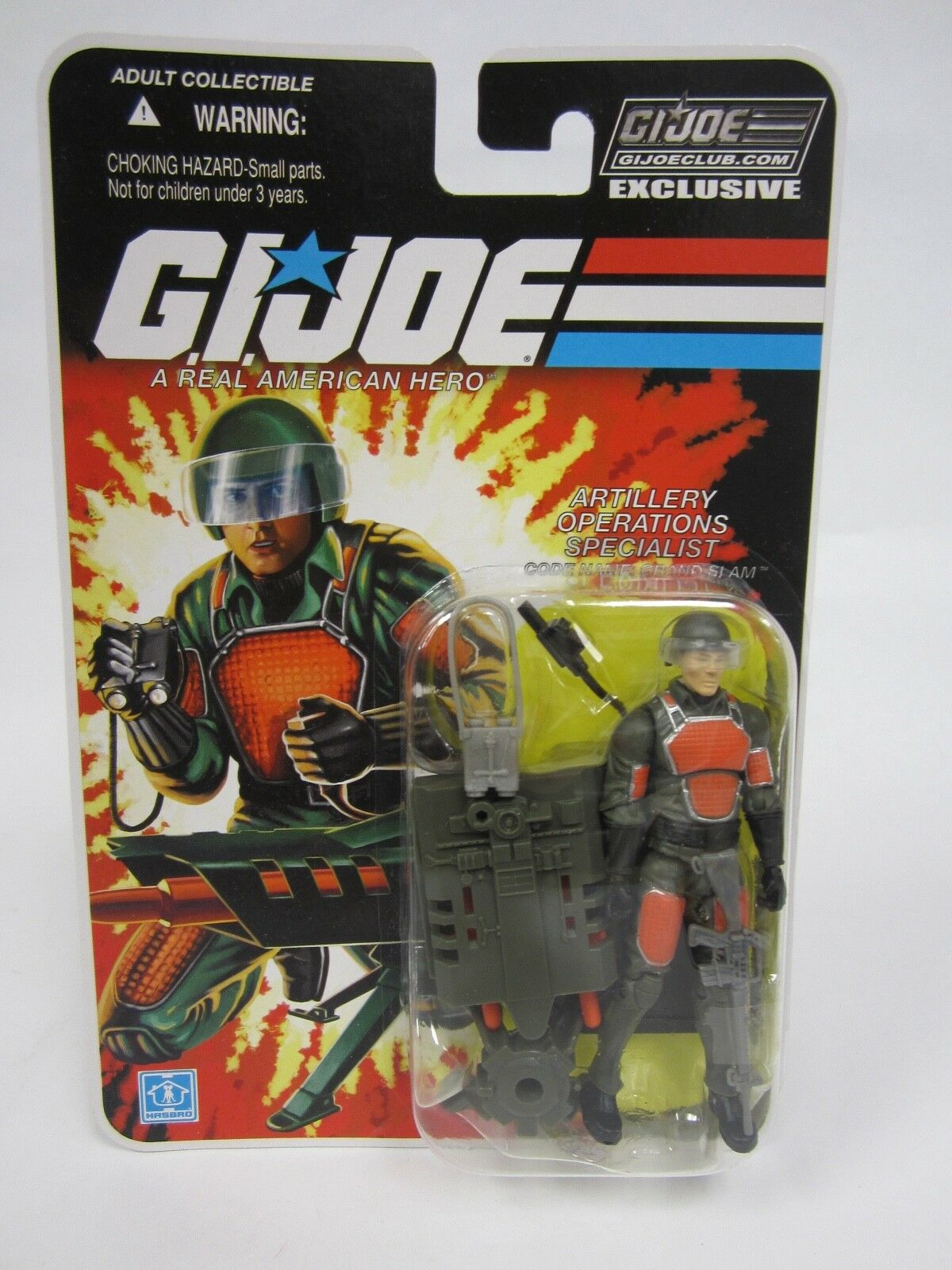 G.I. JOE COLLECTOR'S 2.0 CLUB EXCLUSIVE FSS SUBSCRIPTION GRAND SLAM ACTION FIGUR