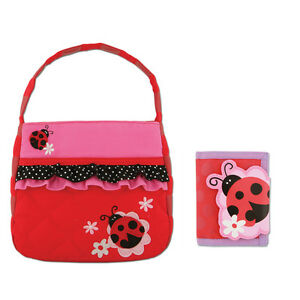 Image Is Loading Stephen Joseph Quilted Ladybug Purse And Wallet For