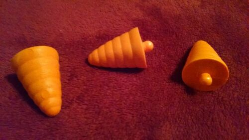 3 Noses For larger snowman Snowman Blow Mold Carrot Nose Replacement  Part