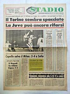 QUOTIDIANO-STADIO-21-10-1976-PARTITE-COPPA-CAMPIONI-COPPA-DELLE-COPPE-COPPA-UEFA