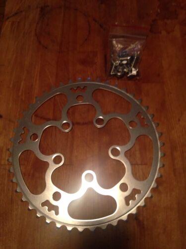 46t Triple Crank Adaptor Rivendell Willow Tripleizer Chainring 130 bcd