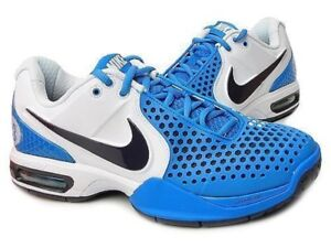 buy popular c6c44 f7696 Image is loading NIKE-AIR-MAX-COURTBALLISTEC-3-3-TENNIS-SHOES-