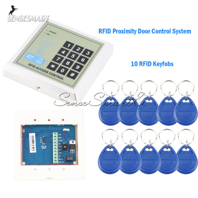 500User Door Lock Access Control System Security RFID Proximity Entry+ (10 Keys)