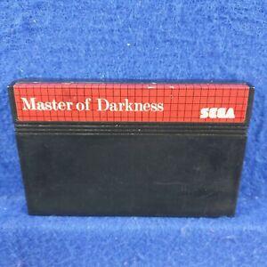 UK import Master of Darkness sega master system boxed region free ultra rare