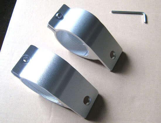 Fog Light Holder Lamp Brackets Tabs For 3 Inch (76mm) Bar 4x4